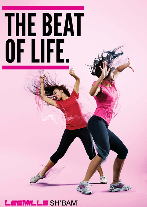 Les Mills sh'bam - Brighton Fitness - Paragon Fitness - Happy Valley