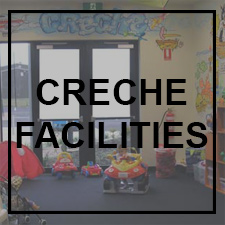Gym with creche