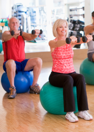 seniors fitness class - brighton fitness - paragon fitness - happy valley