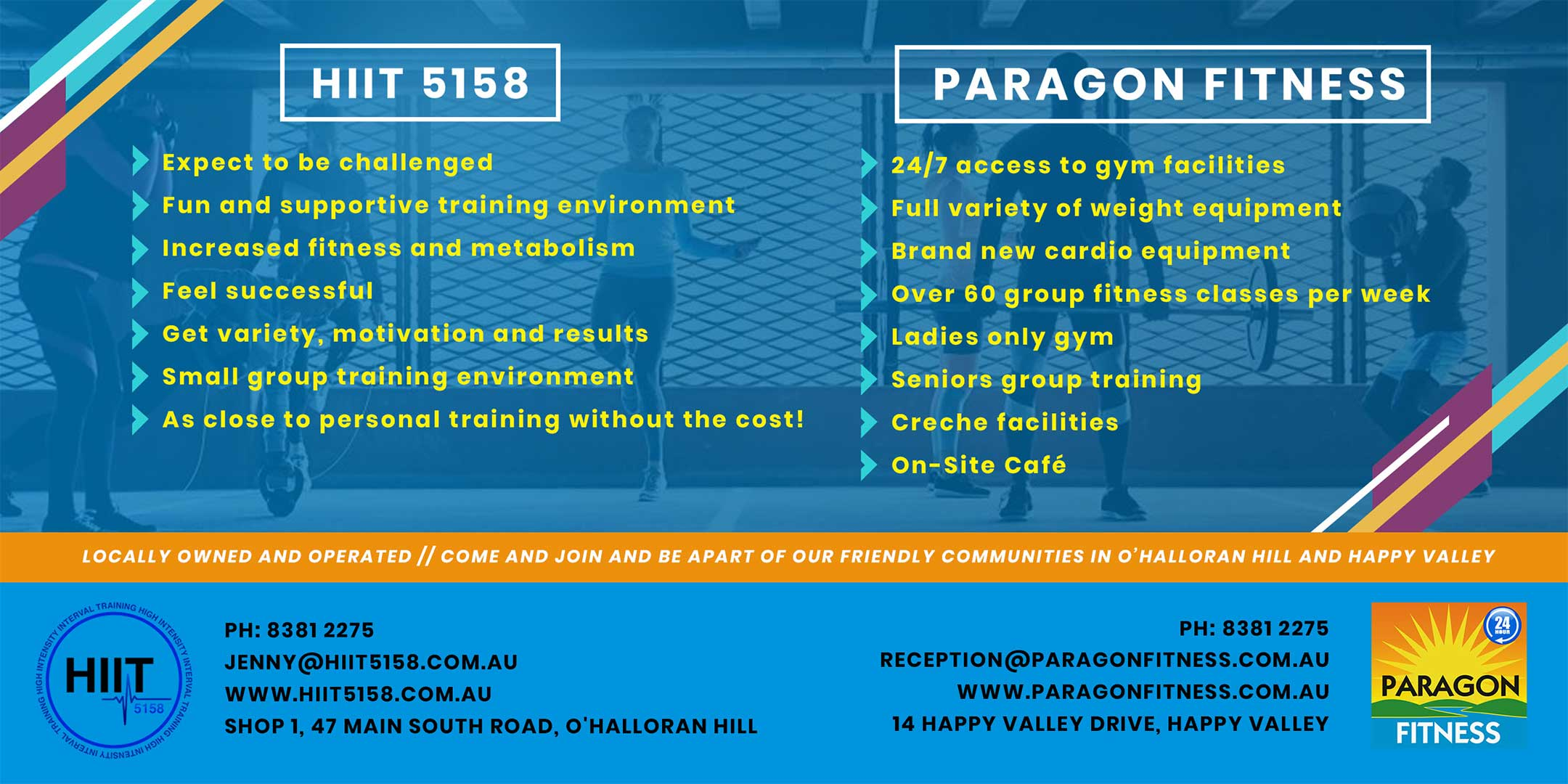 Paragon Fitness Centre - Happy Valley - 24 hour gym with creche