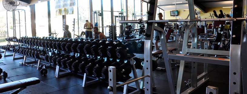 Weight Room - Free weights - Brighton Fitness - Paragon Fitness - Happy Valley